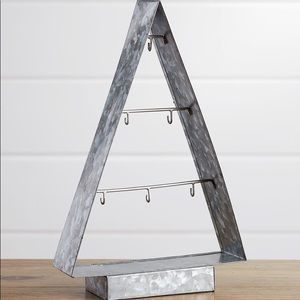 Galvanized Metal Ornament Tree